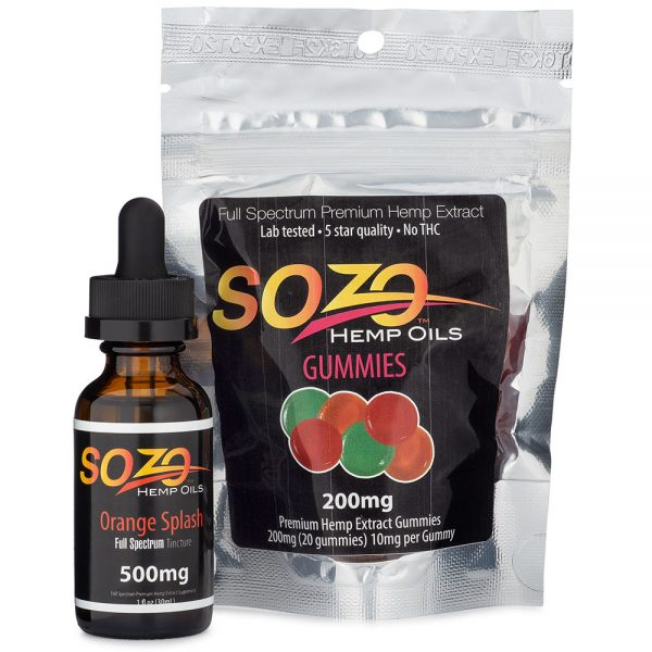 Sozo CBD Wellness Package